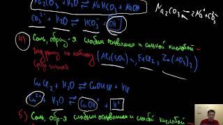 Гидролиз. Гидролиз солей. Как решать задание 23 ЕГЭ по Химии