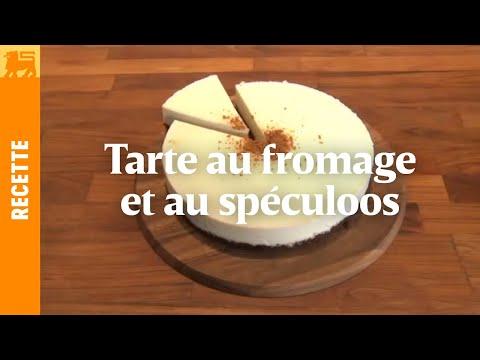 Tarte au fromage et au spéculoos