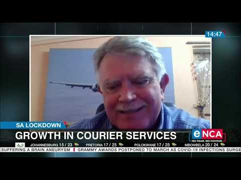Growth in courier services