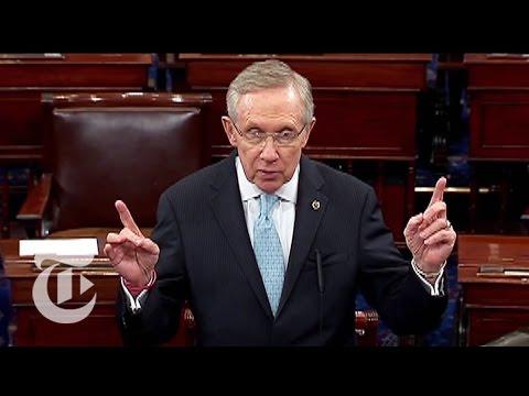 Amid Talk of Government Shutdown, Senate Debates