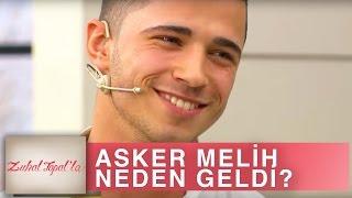Zuhal Topal'la 139. Bölüm (HD) | Asker Melih Stüdyoya Neden Geldi?