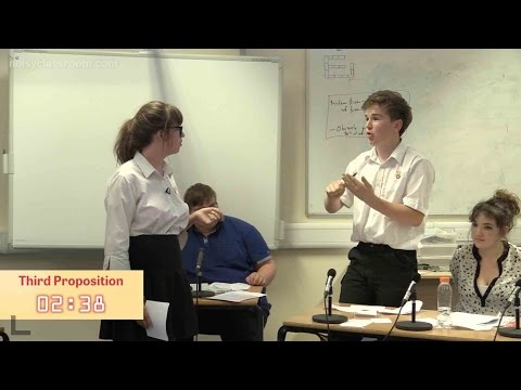 This House Would Abandon Nuclear Power – World Schools format debate