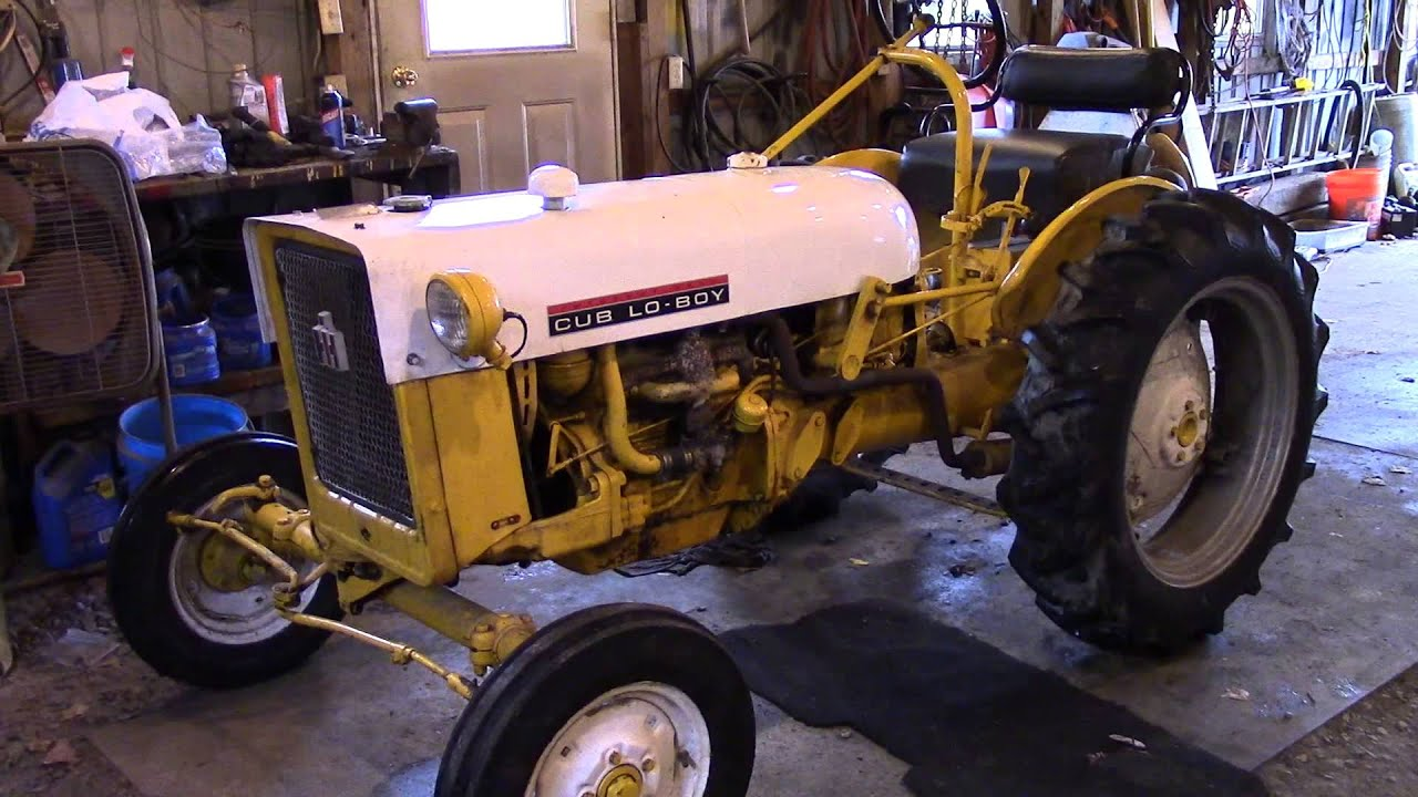 Throw Out Bearing >> 1968 International Cub Lo Boy Repairs Part 2 - YouTube