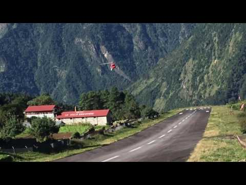 Lukla Airport... Takeoff & Landing November 5, 2016