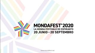 MondaFest' 2020: Somera Inaŭguro