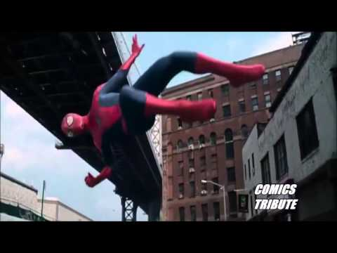 Daredevil Netflix & The amazing Spider man  Evanescence  Bring me to  TRIBUTE HD 1280P.