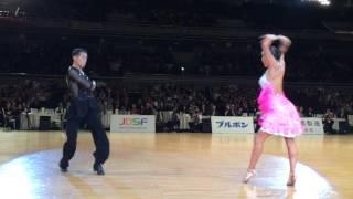 第35回三笠宮杯全日本ダンススポーツ選手権  準優勝 八谷和樹 皆川円組