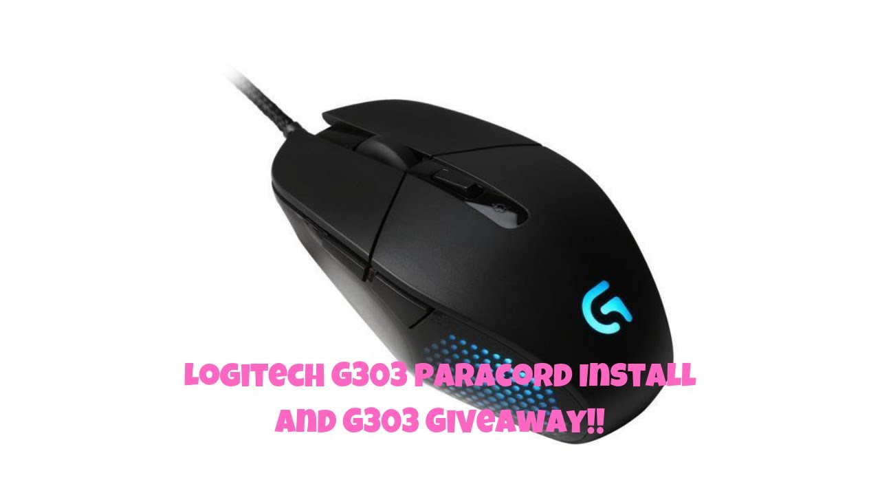 004a8f8eb35 Logitech Apex G303 paracord install and G303 giveaway information inside!!!