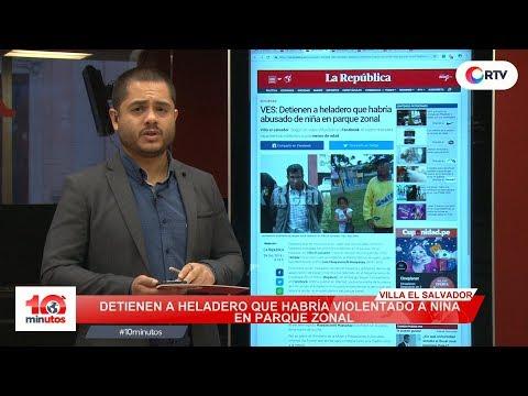 En chat La Botica, fujimorismo hace evidente su blindaje a Hinostroza - 10 minutos Edición Matinal