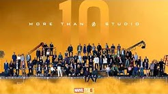 Marvel Cinematic Universe - 10 Years Of Theme Song (2008 - 2018)