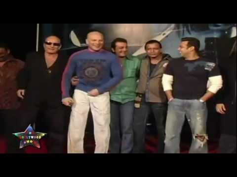 Sanjay Dutt & Salman Khan At Muhurat Of Mithun's Son Mimoh's Films