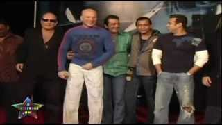 Sanjay Dutt & Salman Khan At Muhurat Of Mithun