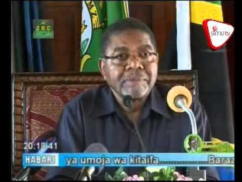 Dkt Shein Atangaza Baraza La Mapinduzi SIMU