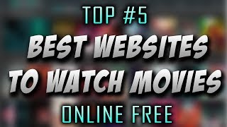 Best websites for movies online 2018