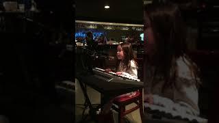 clip of 6 year old elly k - roar & girl on fire piano