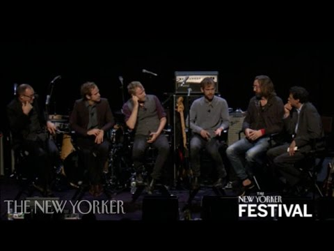 """The National perform """"Terrible Love"""" - The New Yorker Festival"""