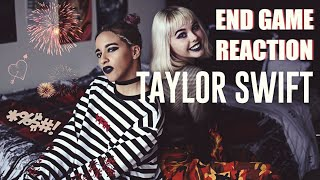 Taylor Swift ENDGAME | Reaction !