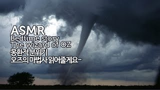 ASMR 오즈의 마법사 읽어줄게요 | 뮤직박스-바람-몽환적 분위기 | Bedtime story The wizard of OZ