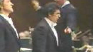Placido Domingo & Sherrill Milnes sing Si pel ciel