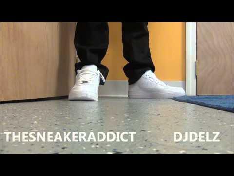 Nike Air Force 1 White On White Sneaker