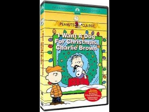 I Want A Dog For Christmas Charlie Brown.Trailers For I Want A Dog For Christmas Charlie Brown 2004 Dvd