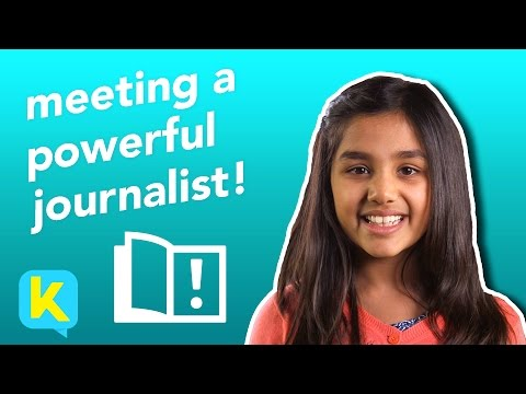 Meeting a Powerful Journalist | Zanny Minton Beddoes | Kidspiration