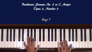 Beethoven Piano Sonata Op 2 No 3 1st Mvt Allegro Con Brio Tutorial Part III