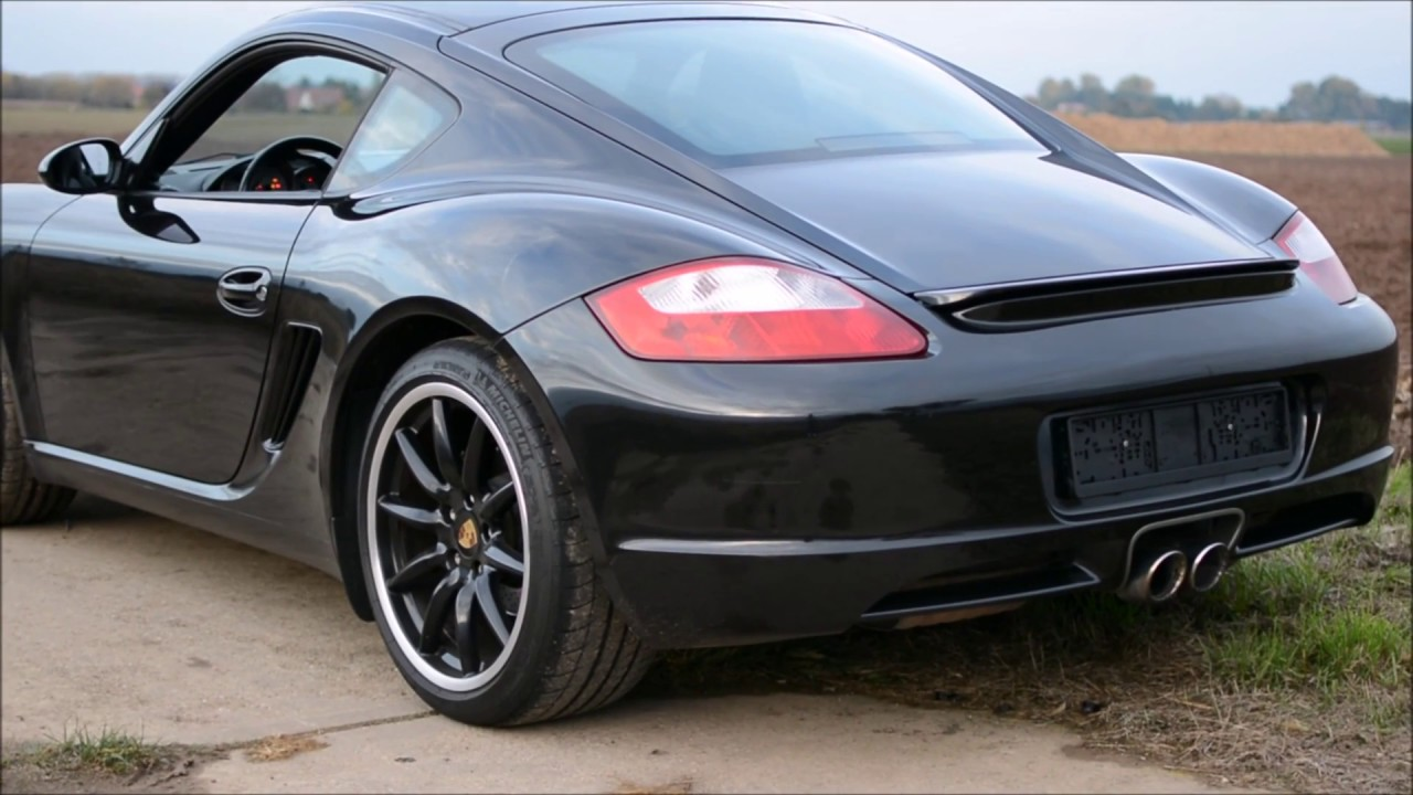 porsche cayman s 987 start ups interior exterior sound. Black Bedroom Furniture Sets. Home Design Ideas