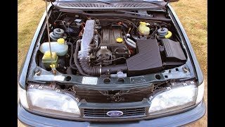 Ford Sierra 2.0 DOHC Engine Startup and Revs