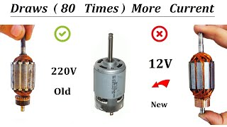 220V DC Motor to 12V High Curr…