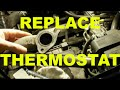 change THERMOSTAT REPLACEMENT how to DIY - OBDII trouble code P0128 fix - GM 3100 - 3400 engine cars