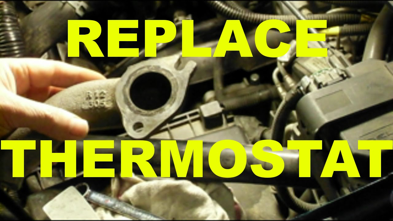 small resolution of change thermostat replacement how to diy obdii trouble code p0128 fix gm 3100 3400 engine cars youtube