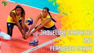 Jaqueline Carvalho & Fernanda Garay by Danilo Rosa | Brazilian Wing Spikers | London 2012
