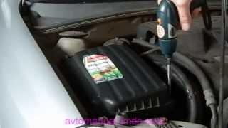 видео Замена воздушного фильтра Chevrolet Lacetti