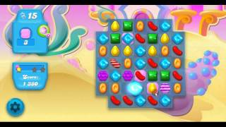 Candy Crush Soda Saga Level 166 ★★★ No Booster