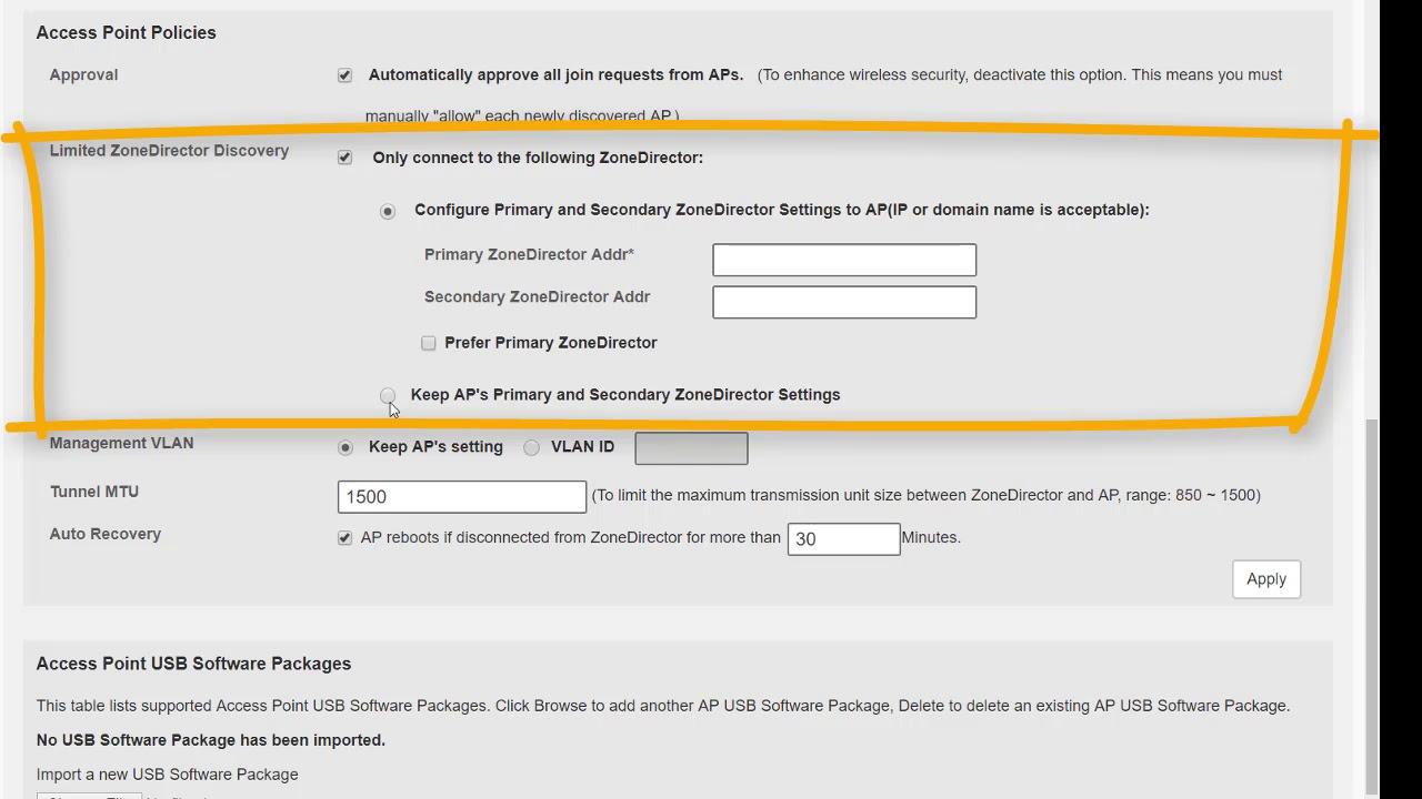 Configure Access Points, Maps, Mesh