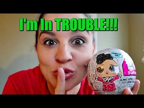 MOM STEALS LOL Dolls! Don't Tell Aubrey! Opening LOL Bling Series