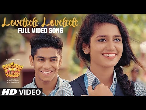 Loveleele Loveleele Full Video Song | Kirik Love Story Video Songs | Priya Varrier, Roshan Abdul