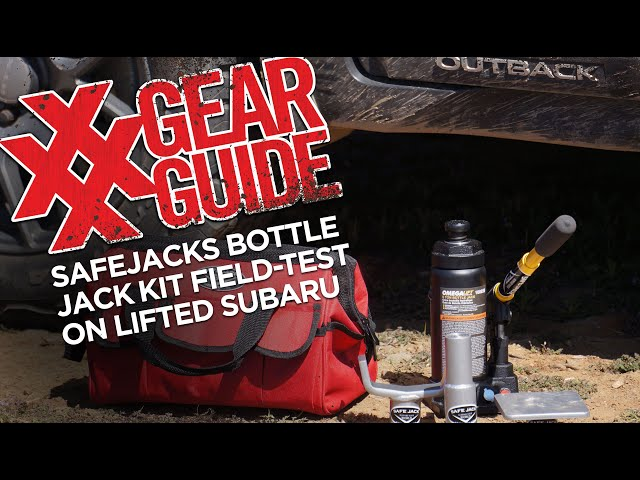 SafeJacks Bottle Jack Kit Review and How To Air Down Tires Step-by-Step