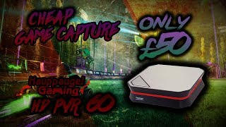 BEST CHEAP 1080P 60FPS GAME CAPTURE FOR £50!!! (Hauppauge HD PVR 60) UNBOXING SETUP AND QUALITY TEST