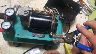 100Vコンプレッサーの修理 コンプレッサー 検索動画 21