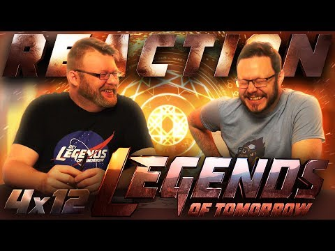 "Legends of Tomorrow 4x12 REACTION!! ""The Eggplant, the Witch & the Wardrobe"""