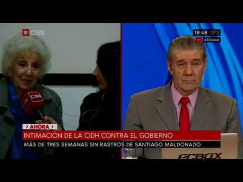 Entrevista a Estela De Carlotto