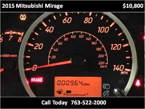 2015 mitsubishi mirage used cars golden valley mn youtube for Poquet motors golden valley mn