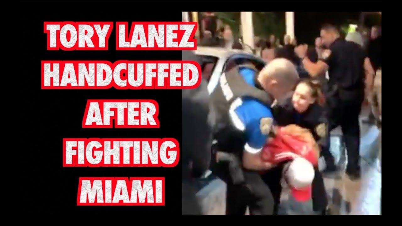 Tory Lanez Arrested Miami Liv 2018 Youtube