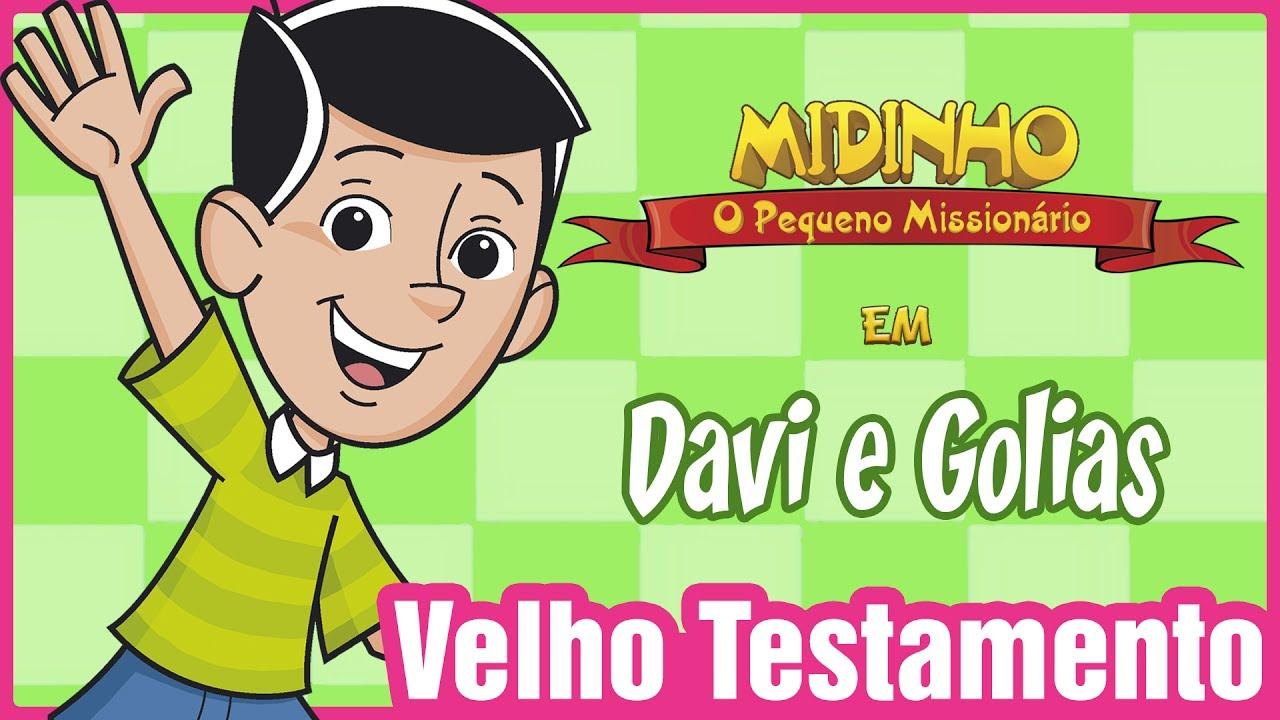 Davi E Golias Midinho O Pequeno Missionario Youtube