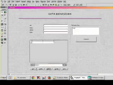 Cara Membuat Database Menggunakan Visual Basic