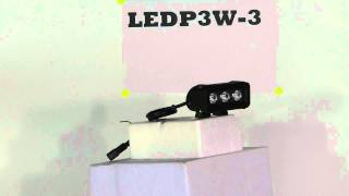 LEDP3W-3 Low Profile, HI LED LB - 3, 3-Watt LEDs - 9-48 Volts DC - 684 Lumen - .8 Amp Draw(LED Light Bar contains 3, 3-watt high powered LEDs providing 9 watts of LED light power. This unit is able to sense incoming voltage and adapt, ranging from ..., 2011-02-18T03:05:48.000Z)