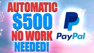 🔥Get PaId $500 In 1 Hour - AUTOMATICALLY!  (Easy Way To Make Money Online 2020!)