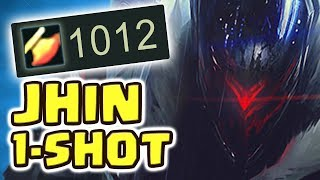 1000 AD NEW PROJECT: JHIN JUNGLE SPOTLIGHT | THE LEGENDARY 1 SHOT |HOW IS THIS POSSIBLE?! Nightblue3